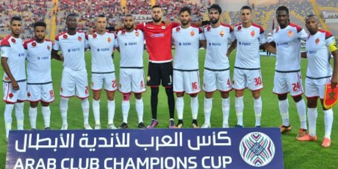 صورة تحكيم أردني لمباراة الوداد في كأس محمد السادس
