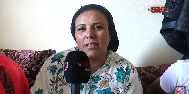 """صورة فيديو-والدة المشجع العسكري المتوفي: """"ولدي درويش ومات بطريقة خايبة"""""""