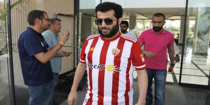 """صورة آل الشيخ: """"أتحدى أي فريق عربي لمواجهته على أرضه وبين جماهيره"""""""