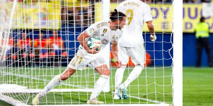 صورة غاريت بيل ينقذ ريال مدريد من هزيمة محققة أمام فياريال- فيديو