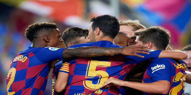 Photo of برشلونة يدك شباك فالينسيا بخماسية- فيديو