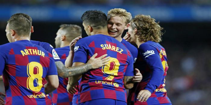 صورة تشكيلة برشلونة الرسمية أمام بروسيا دورتموند