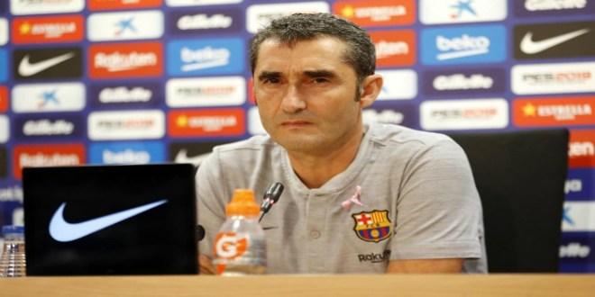 """صورة فالفيردي: """"أنا قلق على برشلونة.. وسنتغلب على هذا الموقف كما حدث العام الماضي"""""""