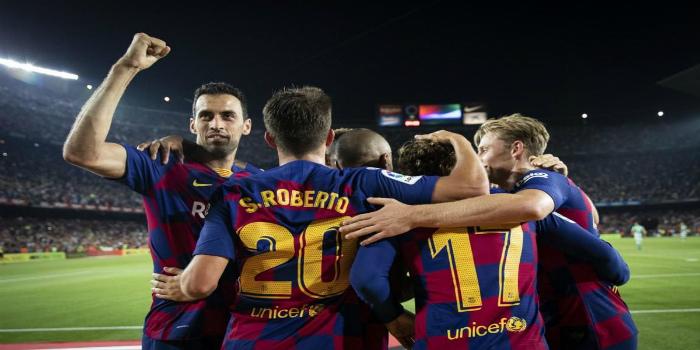 صورة تشكيلة برشلونة الأساسية أمام فياريال