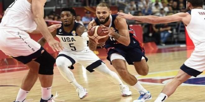 صورة فرنسا تُفجر مفاجأة وتطيح بأمريكا من مونديال السلة