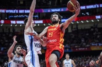 إسبانيا تهزم الأرجنتين وتتوج بمونديال السلة