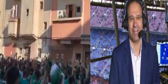 "Photo of الشوالي يكيل المديح لجماهير الرجاء ويكتب: ""إنها ليست مجرد لعبة إنها كرة القدم"""