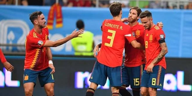 صورة إسبانيا تعود بفوز صعب أمام رومانيا في تصفيات اليورو