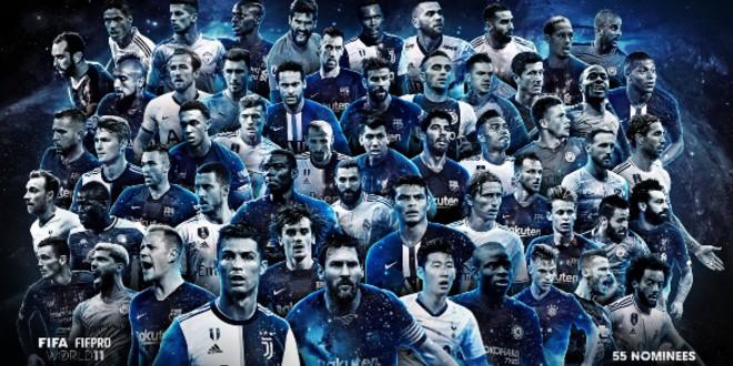"""صورة الاتحاد الدولي لكرة القدم يكشف عن لائحة المتنافسين لـ """"تشكيلة الفيفا"""" لسنة 2019"""