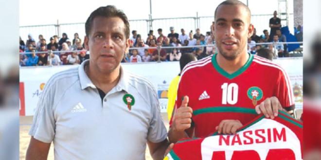 صورة عائلة الحداوي مرشحة لجوائز الأفضل في كرة القدم الشاطئية