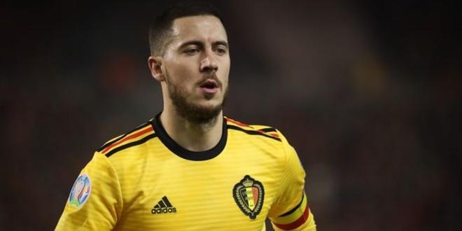 صورة رسميا استبعاد هازارد من قائمة المنتخب البلجيكي