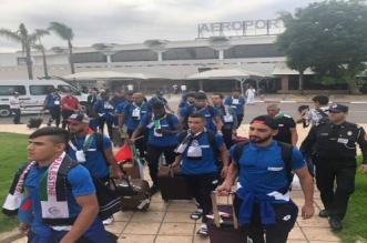 نادي هلال القدس الفلسطيني يصل إلى المغرب