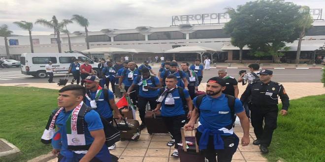 صورة نادي هلال القدس الفلسطيني يصل إلى المغرب