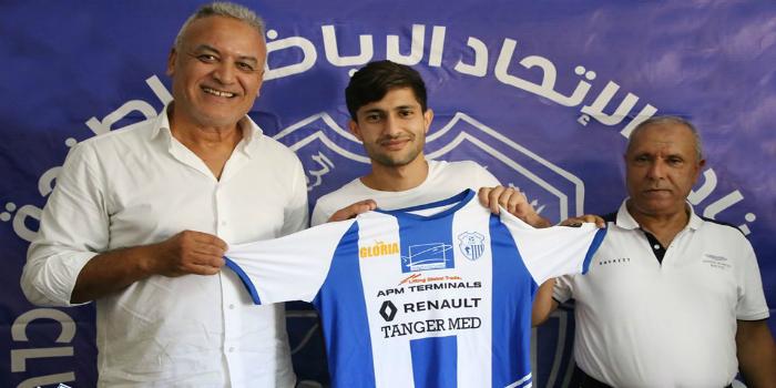 صورة اتحاد طنجة يُقدم لاعبه الليبي زكرياء الهريش