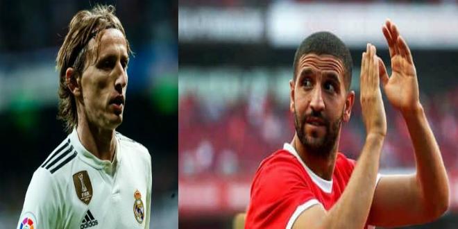 """صورة تاعرابت: """"مودريتش أخبرني يوما بأنني سألعب لبرشلونة أو ريال مدريد"""""""