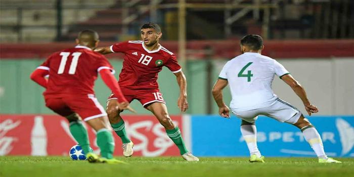 صورة موعد مباراة المنتخب المغربي المحلي أمام الجزائر
