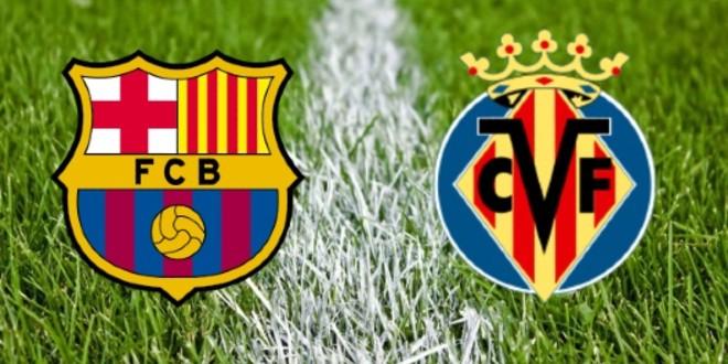 صورة البث المباشر لمباراة برشلونة وفياريال