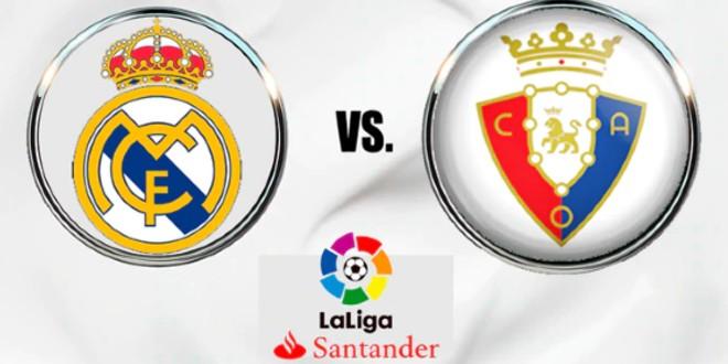 صورة موعد والقنوات الناقلة لمباراة ريال مدريد وأوساسونا