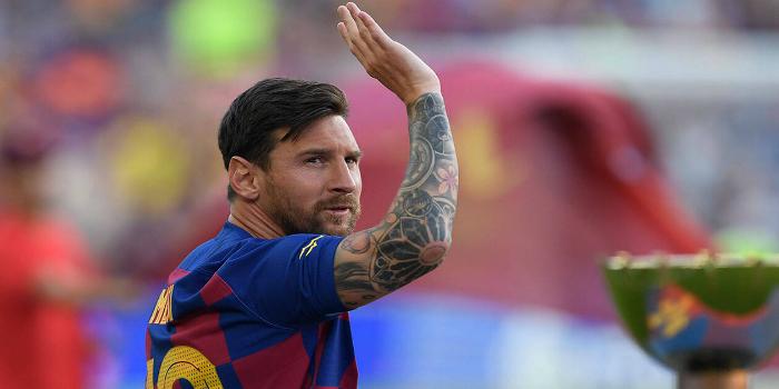 """صورة ميسي ينهي الجدل: """"برشلونة هو بيتي.. والفريق بإمكانه المنافسة على الألقاب بدون نيمار"""""""