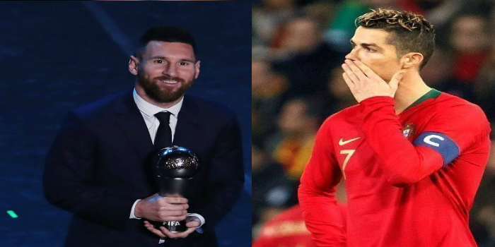 صورة بعد تتويج ميسي بالأفضل في العالم.. الاتحاد البرتغالي يساند رونالدو