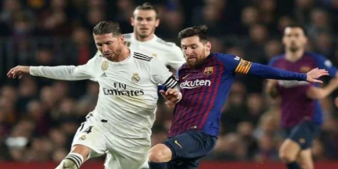 """صورة تحديد موعد الـ""""كلاسيكو"""" بين برشلونة وريال مدريد في الدوري الإسباني"""