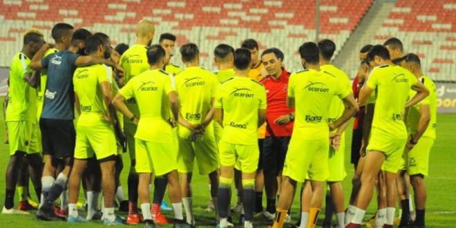 صورة زيارة خاصة لأولمبيك أسفي قبل مواجهة الرفاع البحريني
