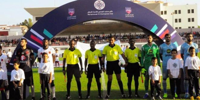 صورة تحكيم أردني لقيادة مباراة أولمبيك أسفي والرفاع البحريني