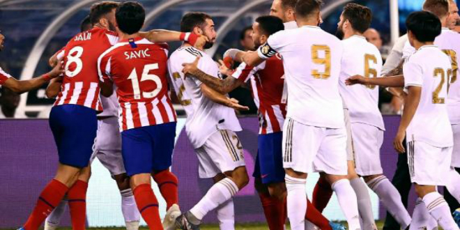 """صورة """"ديربي مدريد"""" بين الريال وأتلتيكو.. قمة الجولة السابعة من الدوري الإسباني"""