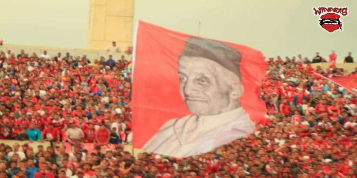 صورة جماهير الوداد تُخلد الذكرى الـ22 لوفاة مؤسس النادي