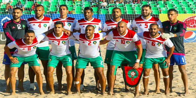 صورة الكشف عن قائمة المنتخب المغربي للكرة الشاطئية الخاصة بالألعاب الأولمبية الدوحة