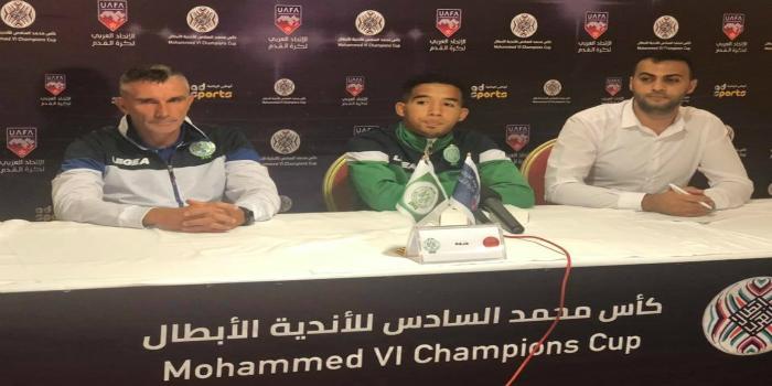"""صورة كارتيرون: """"ظروف الرحلة إلى فلسطين لن تمنعنا من تقديم مستوى جيد في المباراة"""""""