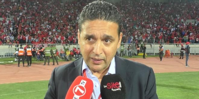 صورة طلال يمثل الوداد في قرعة كأس محمد السادس بالرياض