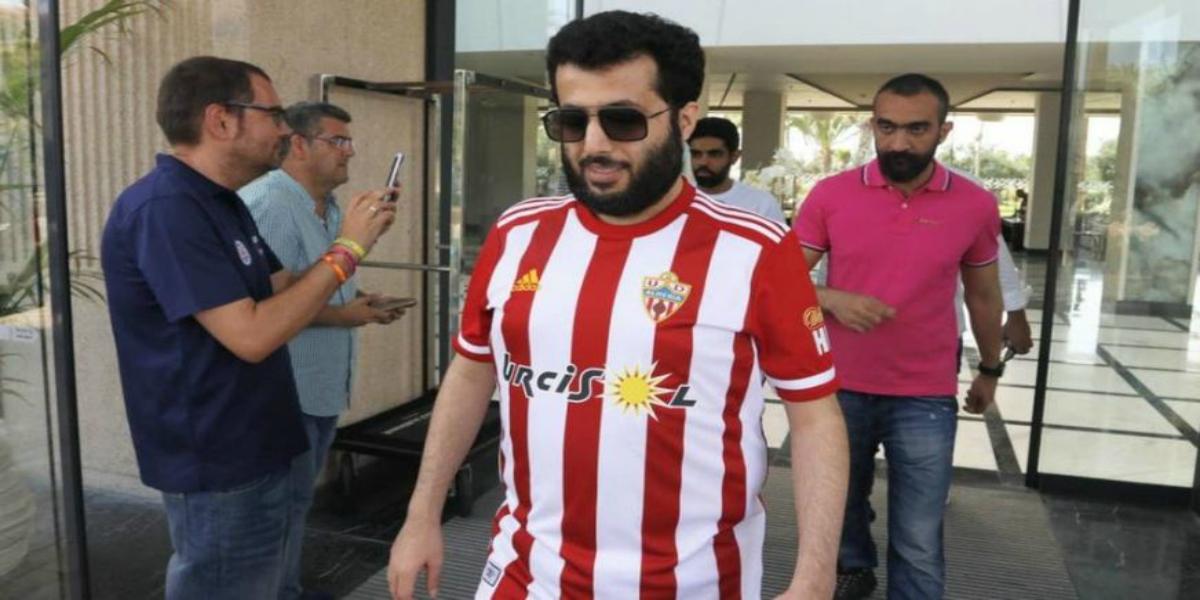صورة آل الشيخ يستقر على اللاعب العربي الأول الذي سيضمه إلى ألميريا