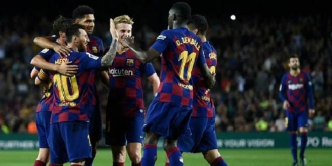 صورة برشلونة يتلقى خبرا سعيدا بشأن نجمه