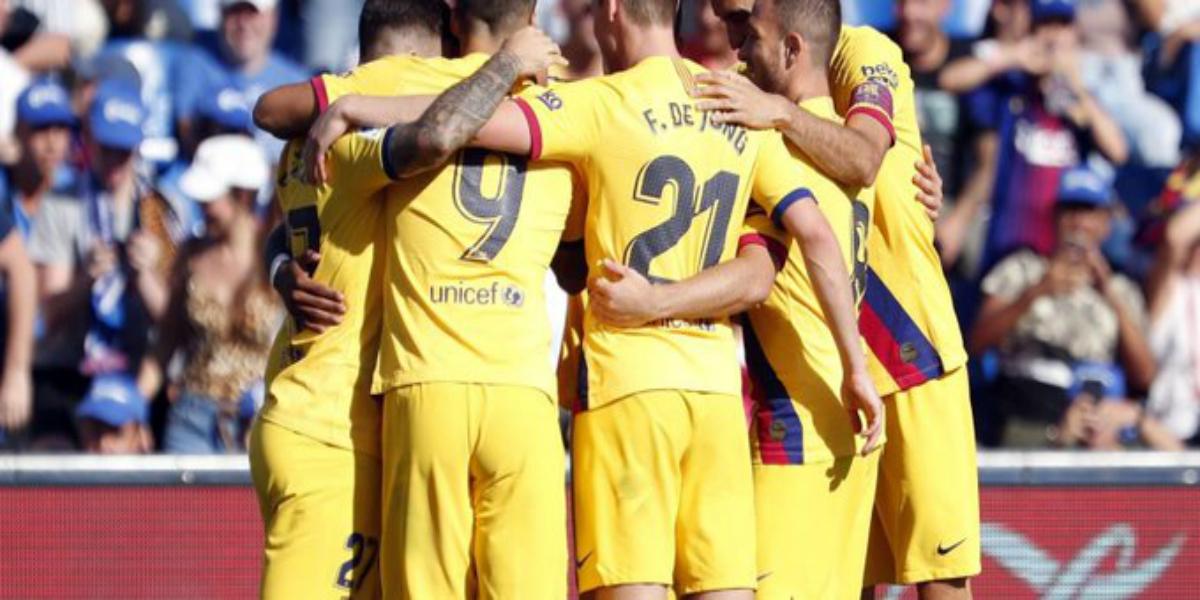 صورة تشكيلة برشلونة الأساسية أمام ليفانتي
