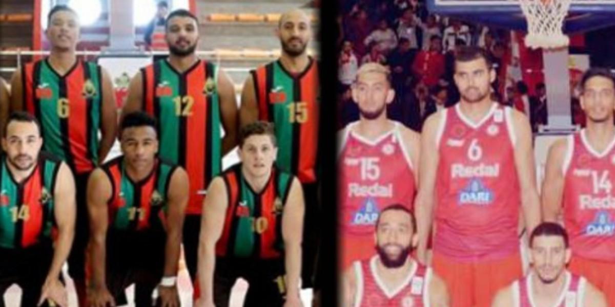 صورة ديربي عاصمي في ربع نهائي البطولة العربية لكرة السلة