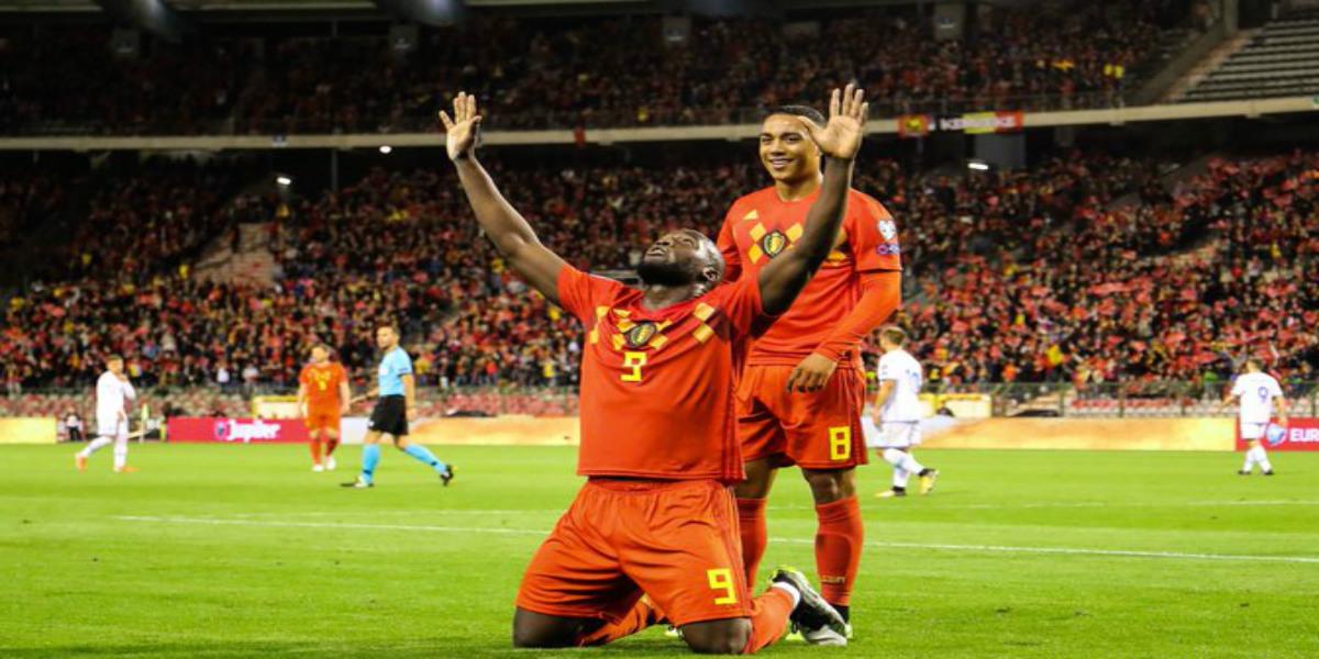 صورة بلجيكا تدك شباك سان مارينو بتسعة أهداف دون مقابل