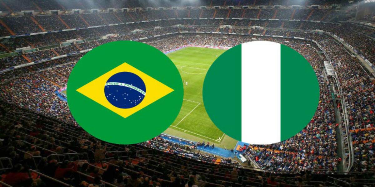 صورة الموعد والقناة الناقلة لمباراة البرازيل ونيجيريا