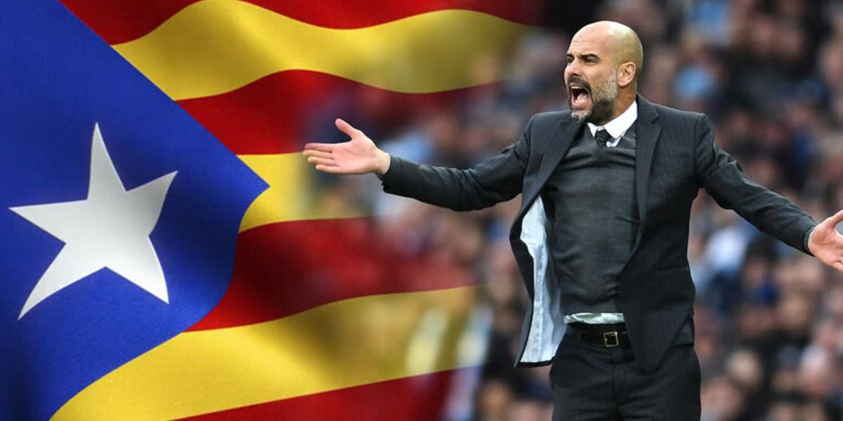 صورة مطالب بترشح غوارديولا لمنصب رئيس حكومة كتالونيا