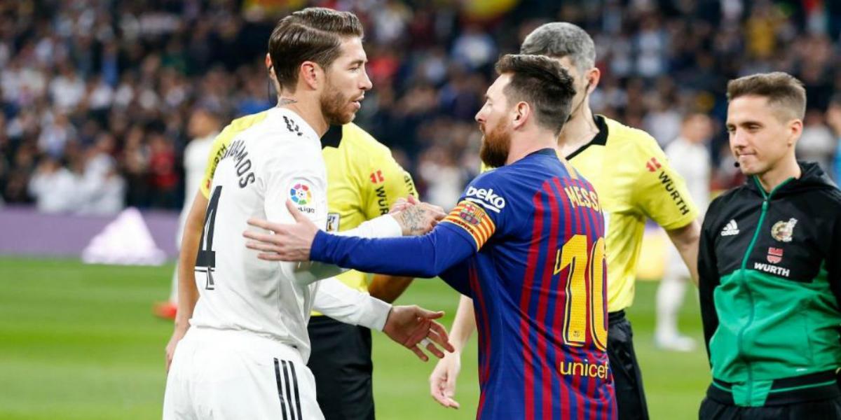 """صورة التشكيلة المتوقعة لبرشلونة وريال مدريد في """"كلاسيكو الأرض"""""""