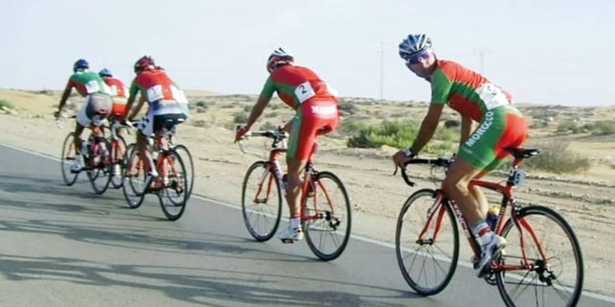 """صورة الدراجون المغاربة يسيطرون على الدورة الأولى من """"مرحلة المغرب لطواف فرنسا للدراجات"""""""