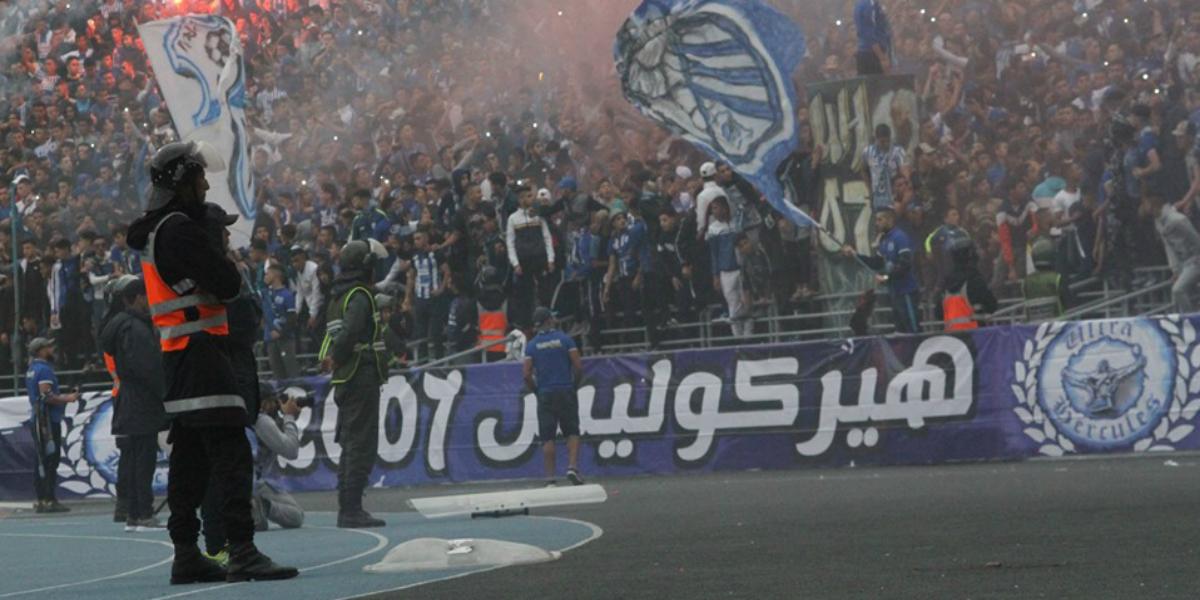 صورة جماهير اتحاد طنجة غاضبة من إدارة النادي