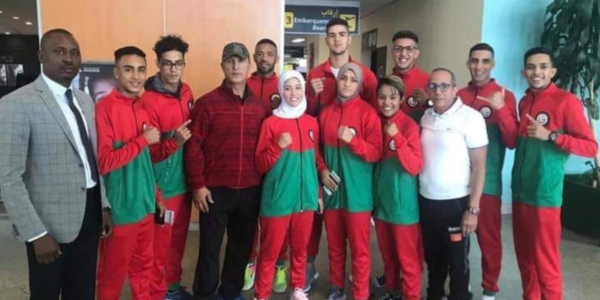 صورة المنتخب المغربي للكيك بوكسينغ يشارك في بطولة العالم