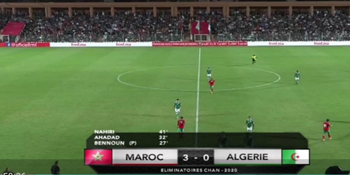 صورة المحليون يتقدمون بثلاثية على الجزائر ويحرجون وحيد خليهودزيتش