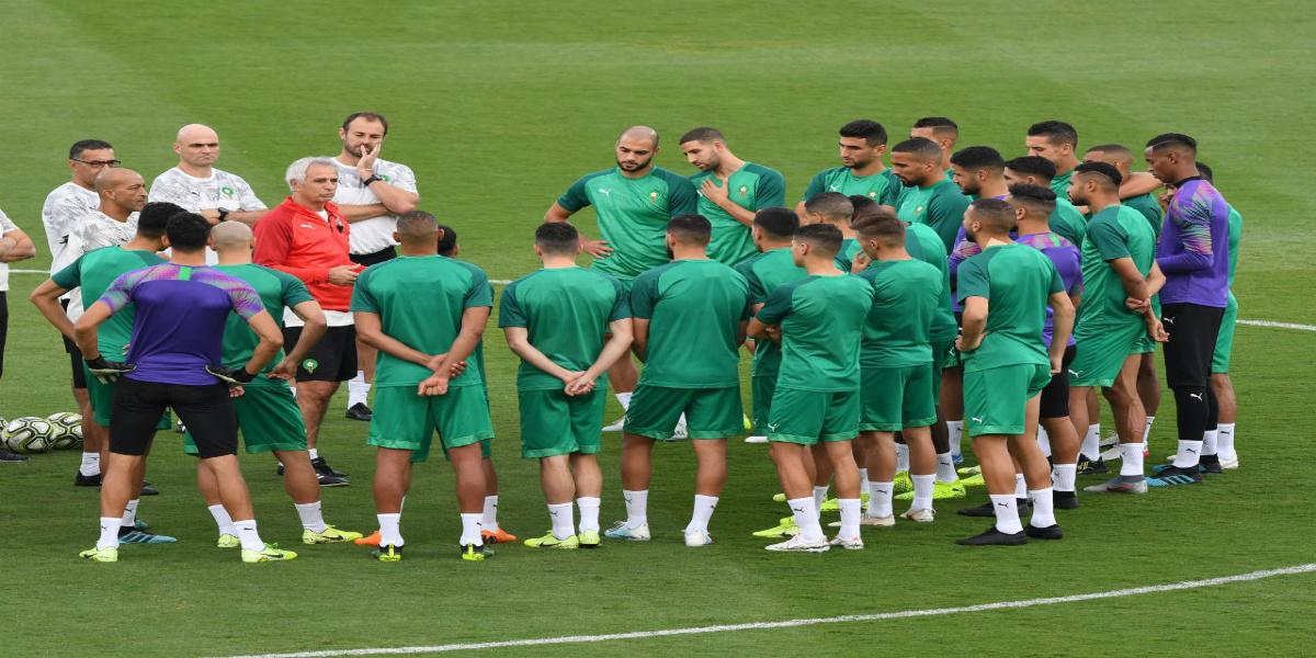 صورة بحضور جميع اللاعبين.. المنتخب الوطني أجرى حصته التدريبية الأخيرة قبل مواجهة ليبيا