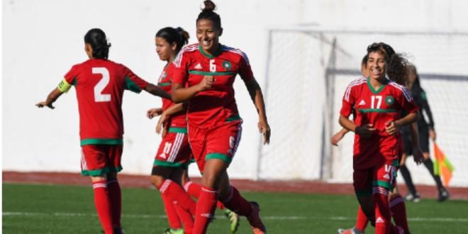 صورة المنتخب الوطني النسوي لأقل من 20 سنة يتفوق على نظيره الجزائري
