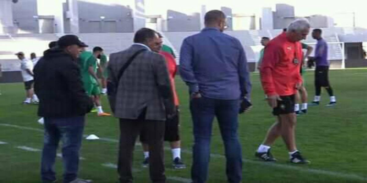 صورة مدير ملعب طنجة يثير الجدل وحاليلوزيتش ينتفض من جديد