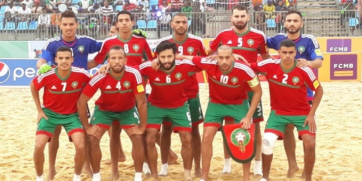 صورة بعد الهزيمة أمام البرازيل وسويسرا.. المنتخب الوطني للكرة الشاطئية ينتصر على الإمارات