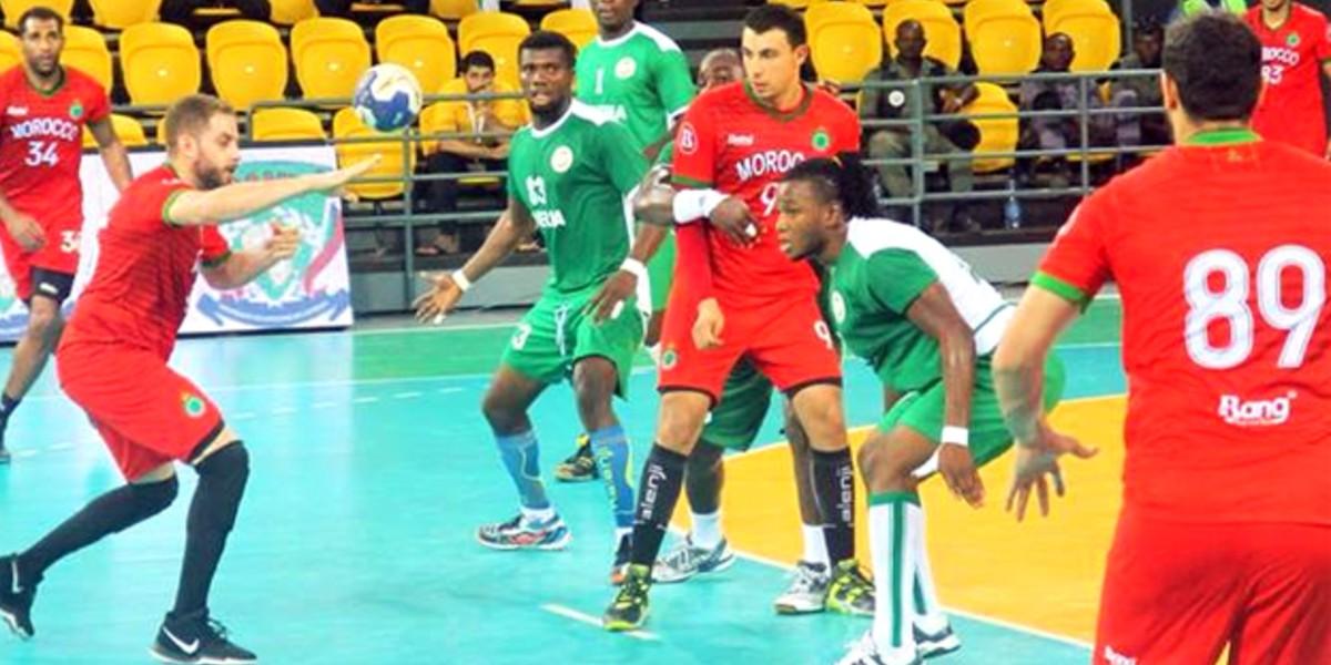 صورة مواجهات قوية للمنتخب المغربي لكرة اليد في كأس إفريقيا
