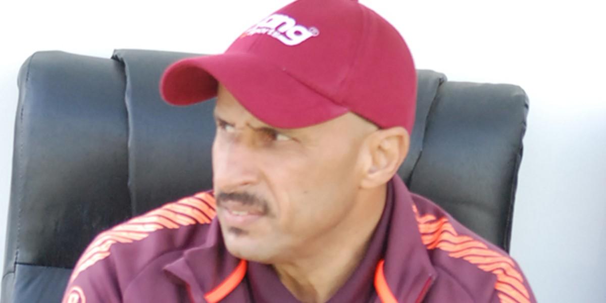 صورة منير الجعواني قريب من تدريب نادي سوداني